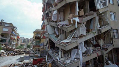 Earthquake Dream Meanings and Interpretation, Building Collapse