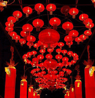 lanterns of the festival - Chinese New Year Lanterns