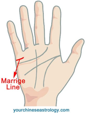 Marriage Line Palm Reading Guide Chinese Palmistry
