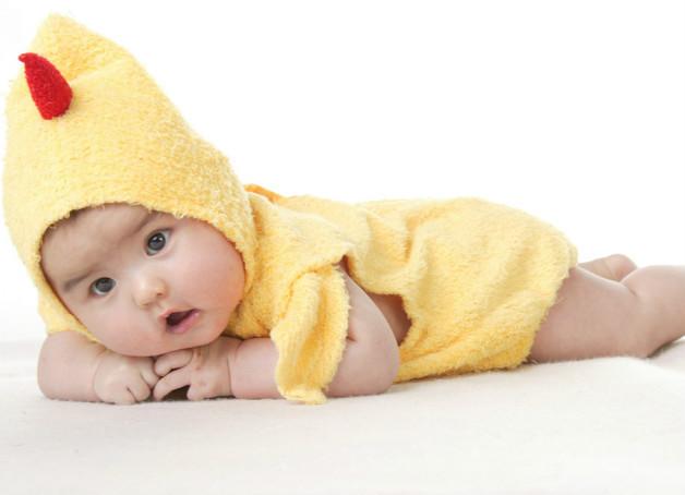 asian baby chicken