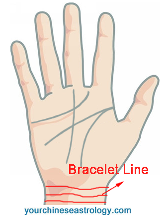Bracelet Line in Palmistry, Rascette Palm Reading, Wrist Lines