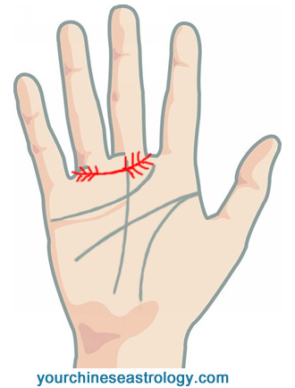 Girdle of Venus in Palmistry, Ring of Venus on the Palm