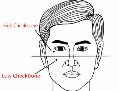 Face Reading Cheekbones: High, Low, Uneven, Prominent